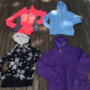Sweater-Hoodie Bundle of 4